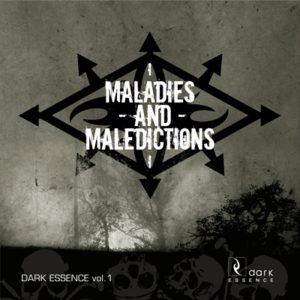 DARK ESSENCE RECORDS Various Artists Maladies and Maledictions Releases Dark Essence Records