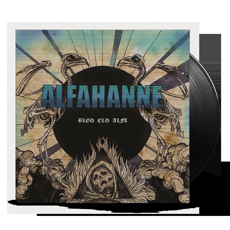 Alfahanne - Blod eld alfa - vinyl cover