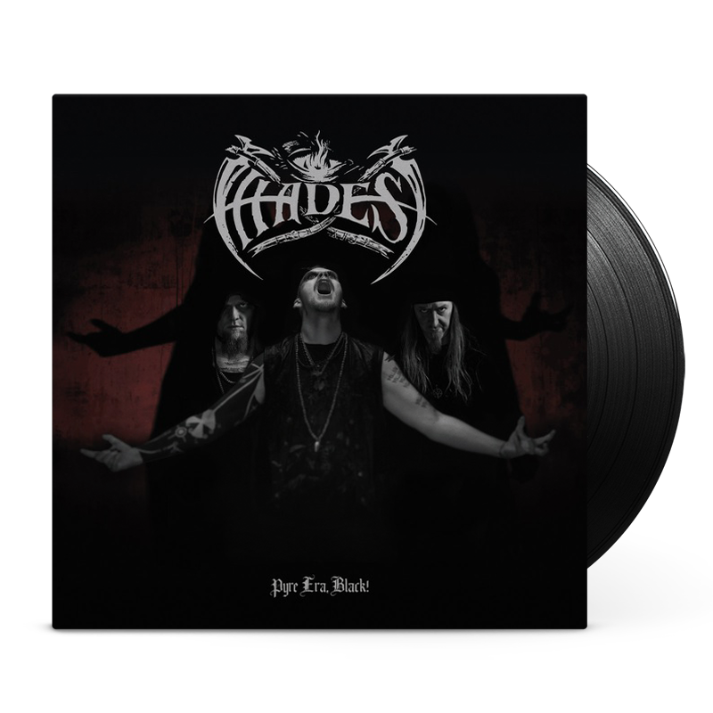 Hades Almighty - Pyre Era, Black! / The one who talks with the fog, vinyl cover