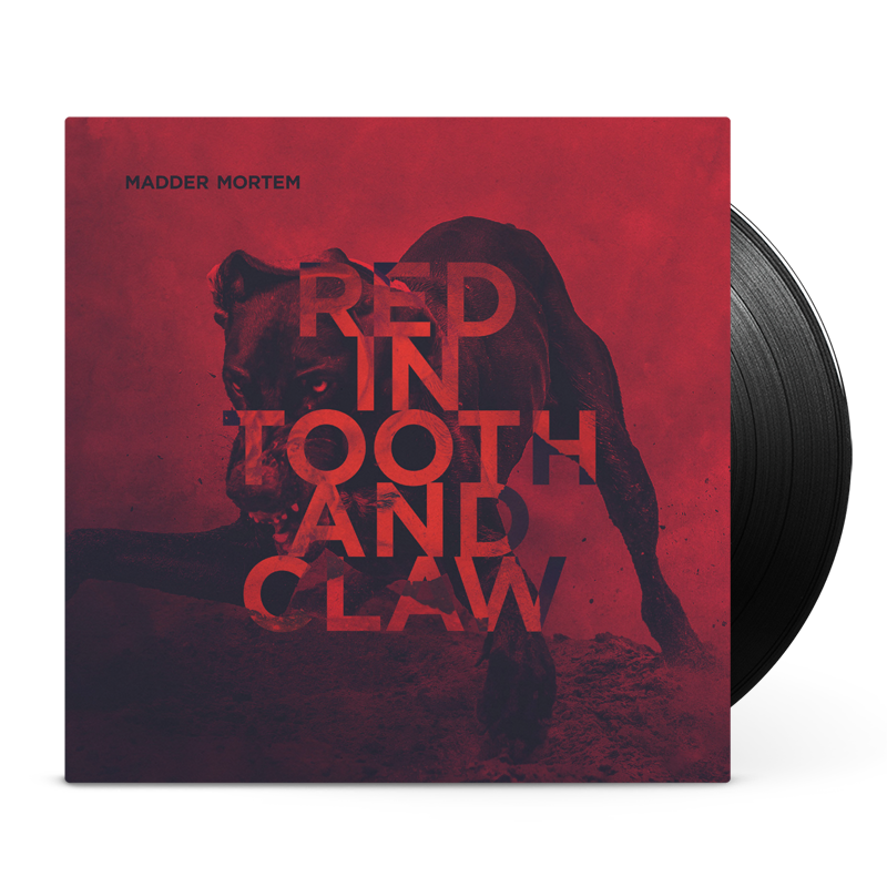 Madder Mortem - Red in Tooth and Claw vinyl