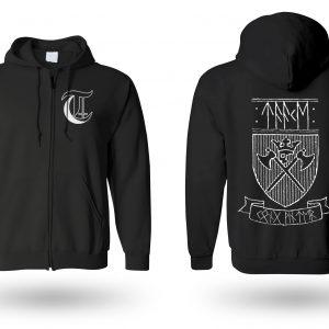 Taake shield zip hoodie (Kong Vinter Edition)