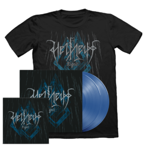 Helheim - Rignir Vinyl/CD/T-shirt bundle