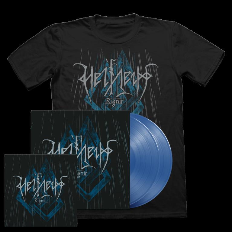 Helheim - Rignir Vinyl/CD/T-shirt bundle
