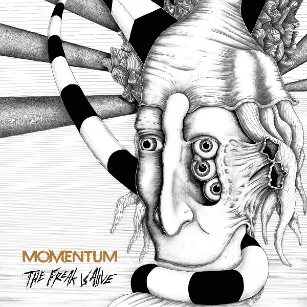 MementumCoverPR A SECOND TRACK DEBUTED FROM UPCOMING ALBUM FROM PROGRESSIVE DOOMSTERS MOMENTUM Dark Essence Records