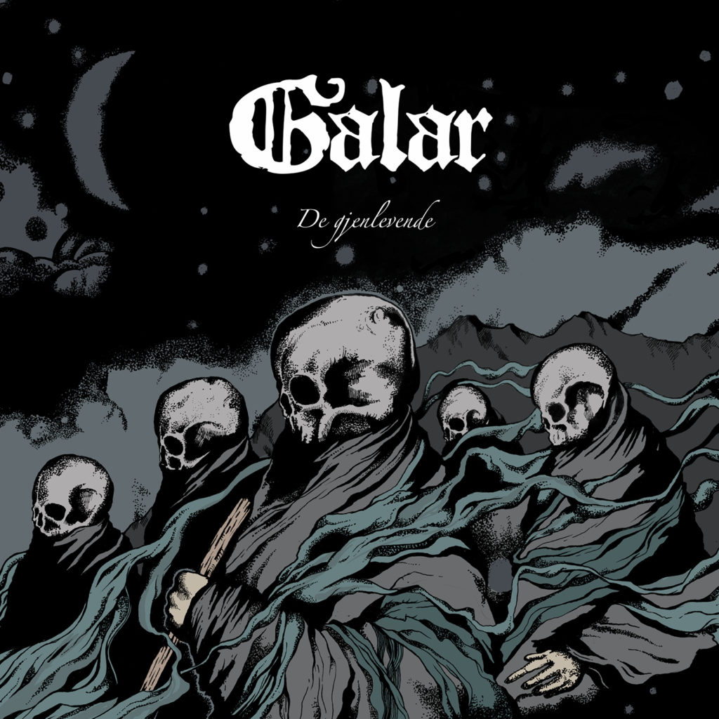 forside DARK ESSENCE RECORDS DEBUT TRACK AND ANNOUNCE RELEASE DATE FOR UPCOMING ALBUM FROM BLACK-FOLK METALLERS GALAR Dark Essence Records