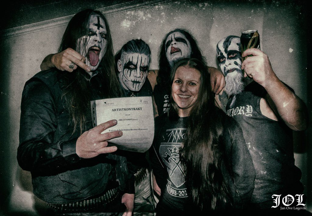 10968840 10203945479612836 1236829268 o THE 3RD ATTEMPT, THE NEW BAND FROM FORMER CARPATHIAN FOREST GUITARISTS, INKS DEAL WITH DARK ESSENCE RECORDS Dark Essence Records