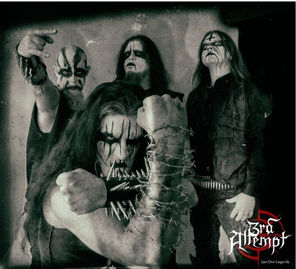 The 3rd Attempt PR THE 3RD ATTEMPT, THE NEW BAND FROM FORMER CARPATHIAN FOREST GUITARISTS, POSTS FIRST STUDIO REPORT WITH PHOTOS AND VIDEOS Dark Essence Records