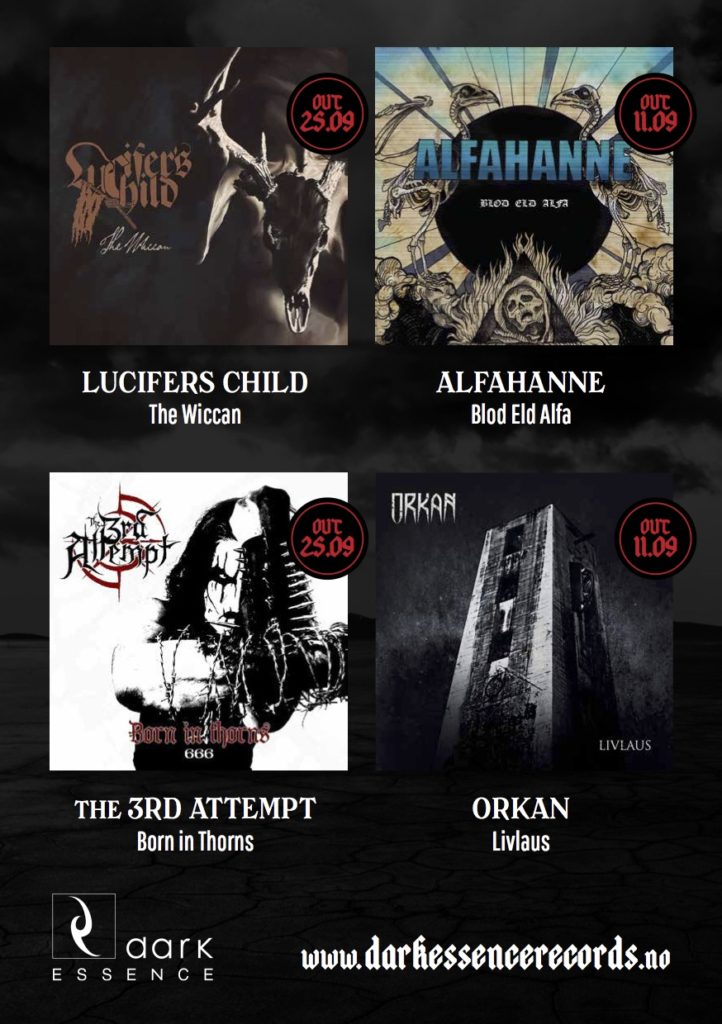 Dark Essence Records releases DARK ESSENCE RECORDS 2015 LISTENING SESSION Dark Essence Records