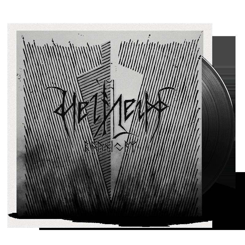 Helheim - raunijaR, vinyl cover