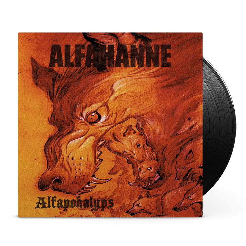 Alfahanne - Alfapokalyps - vinyl cover