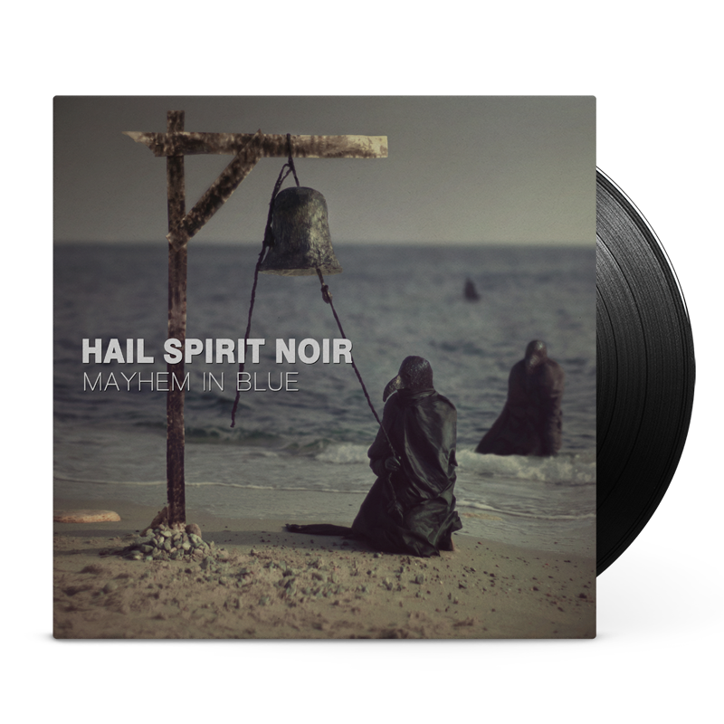 Hail Spirit Noir - Mayhem in Blue vinyl cover