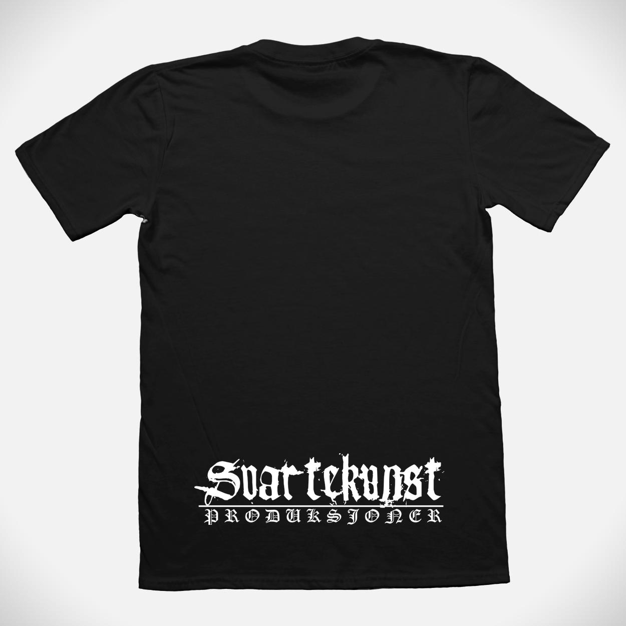 Taake t-shirt backprint