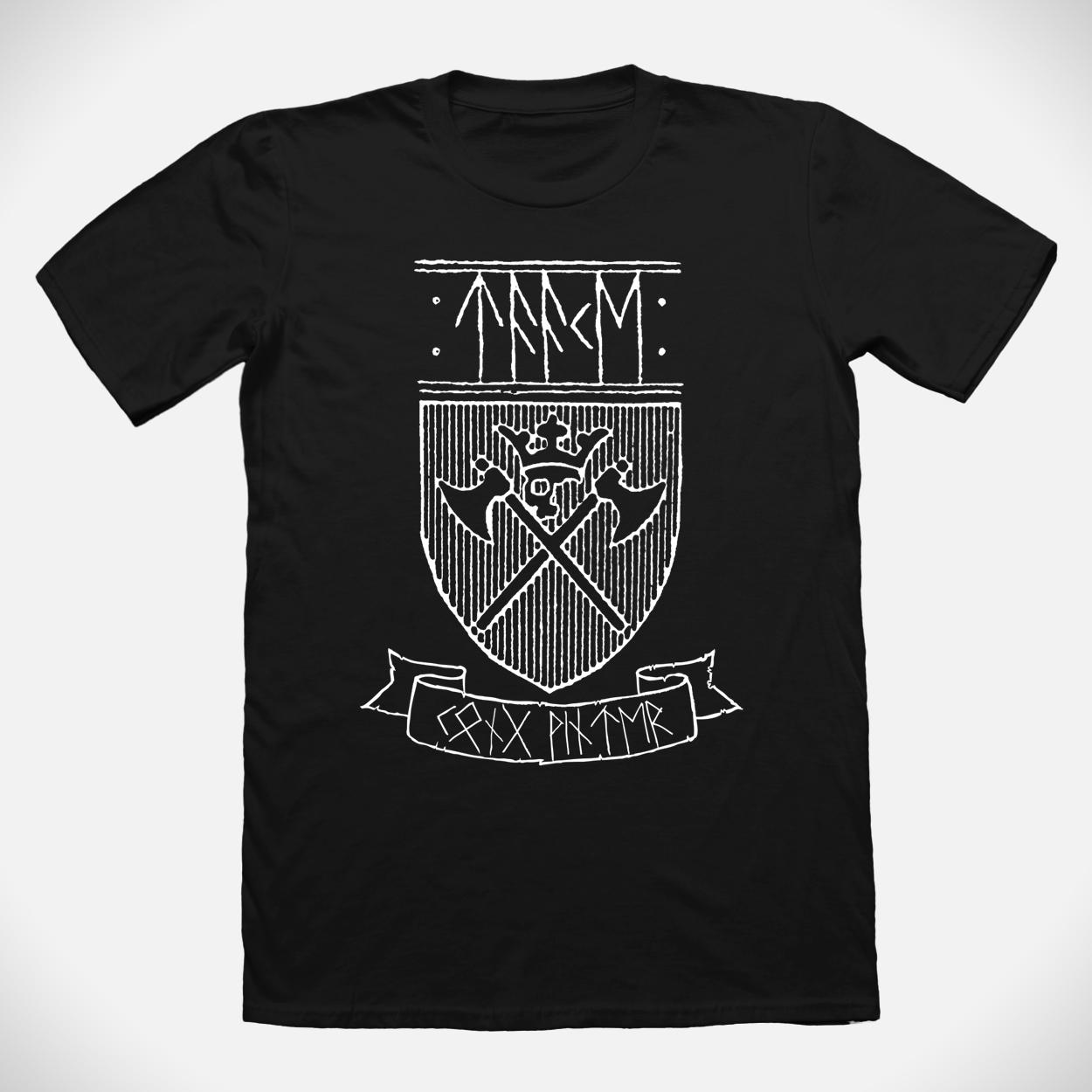 Taake shield t-shirt (Kong Vinter Edition)