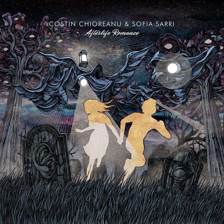Front facebook web promo Costin Chioreanu & Sofia Sarri, Afterlife Romance Dark Essence Records
