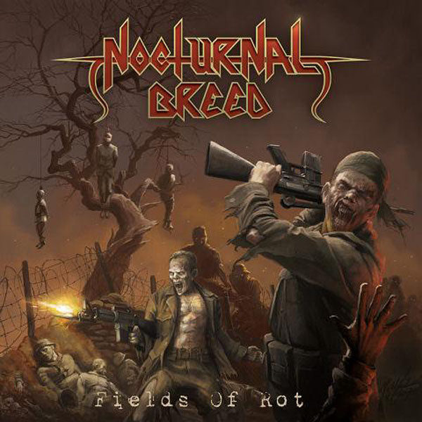 Nocturnal Breed - Fields of rot CD