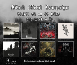 Black Metal Sales Campaign - Dark Essence Records