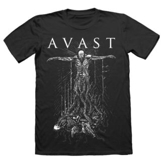 Avast Crucified black t-shirt