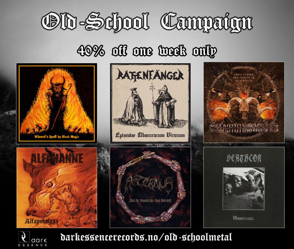 Dark Essence Records_Old School Metal Sales Campaign