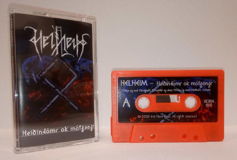 HeidinCassette Helheim, Heidindomr ok motgangr (Cassette) Dark Essence Records