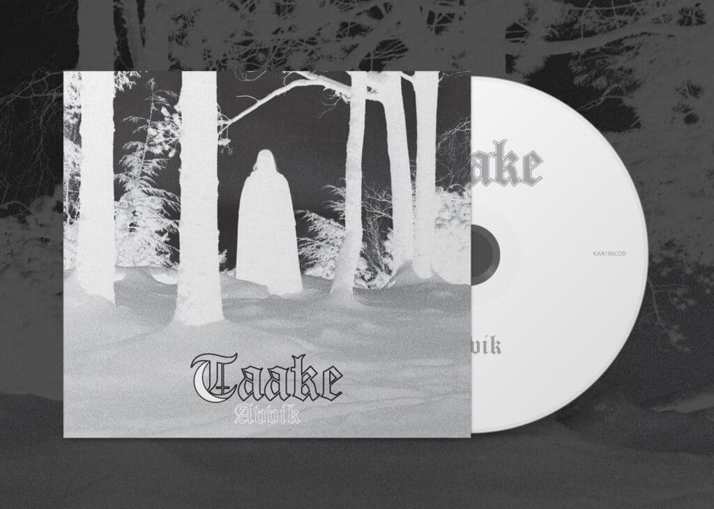 """KAR196CDDTaake Avvik BC NEW TAAKE ALBUM """"AVVIK"""" OUT NOW! Dark Essence Records"""